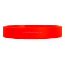 China cheap bulk blank silicone bracelet with different colors