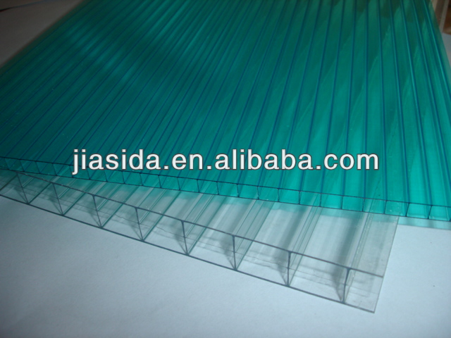 Hot sale high transmission longlife polycarbonate panel for for decoration