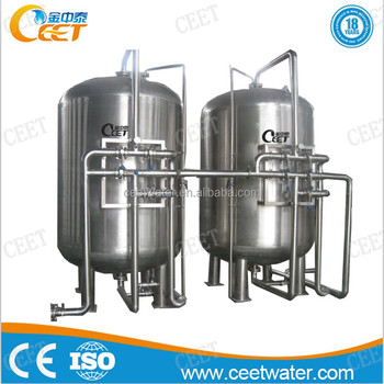 quartz sand and activated carbon water filter system for tap water and well water filtration