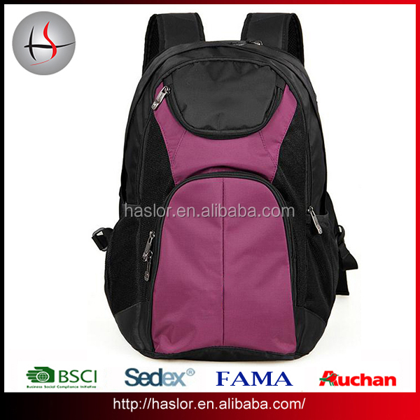 Customized new design pro sport laptop backpack for outdoor travel