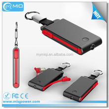 New Design Mobile Power Bank Charger With Dual USB Cable Line
