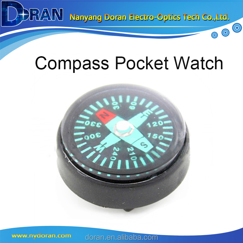 25mm 28mm Compass Pocket Watch Leather Case Pouches Accessories Compass