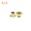 hot sale big size metal plated garment eyelets and grommets