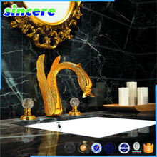Black granite tile polished marble flooring tile