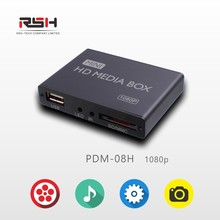 media player FULL HD 1080P for USB SD Cards/HDD/ External Devices