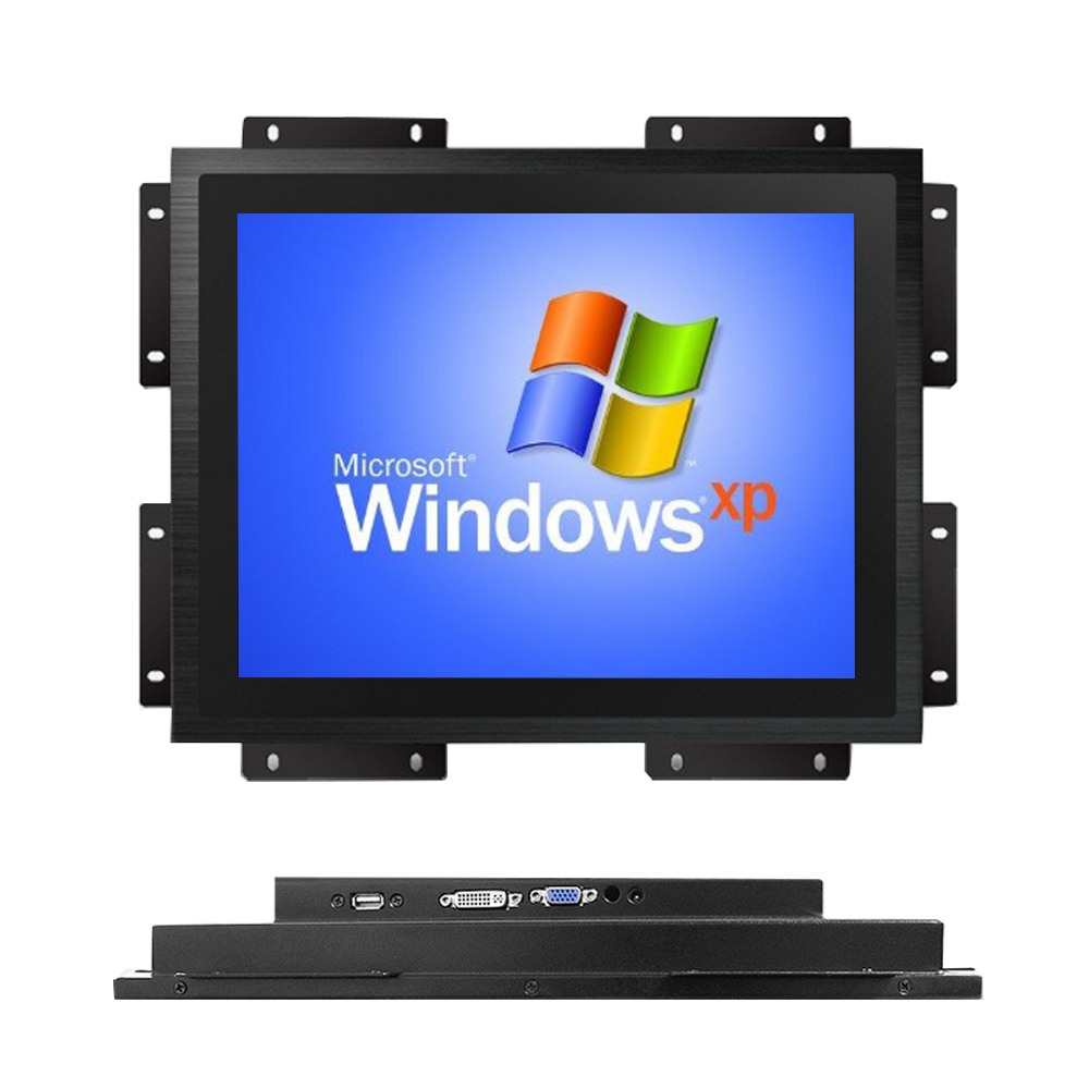 capacitive touch screen 17 inch open frame lcd monitor work with linux ubuntu
