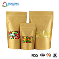 High quality food grade craft paper bag for flour