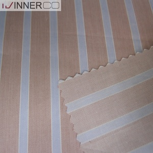 China supplier woven cotton yarn stripe fabric
