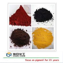 iron oxide types/red color powder/black cement prices