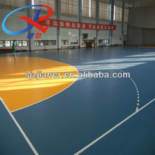 basketball court surface with pvc sports flooring