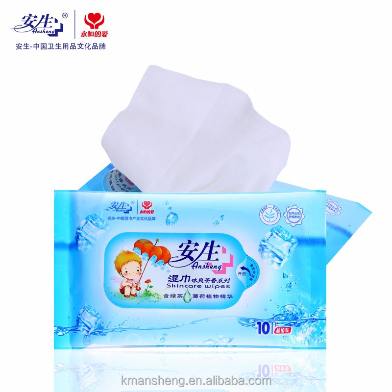 Beauty Plus Skin care wet wipes Super Soft Magic Push Wet Wipes