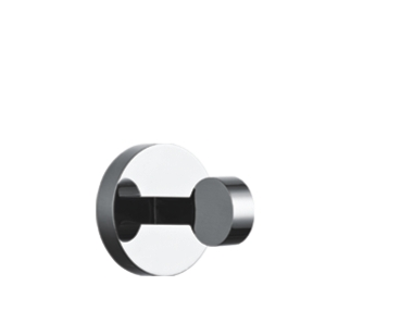 Bathroom Single Chrome Plating Stainless Steel Towel Hook Coat Robe Hook for hotel&bath