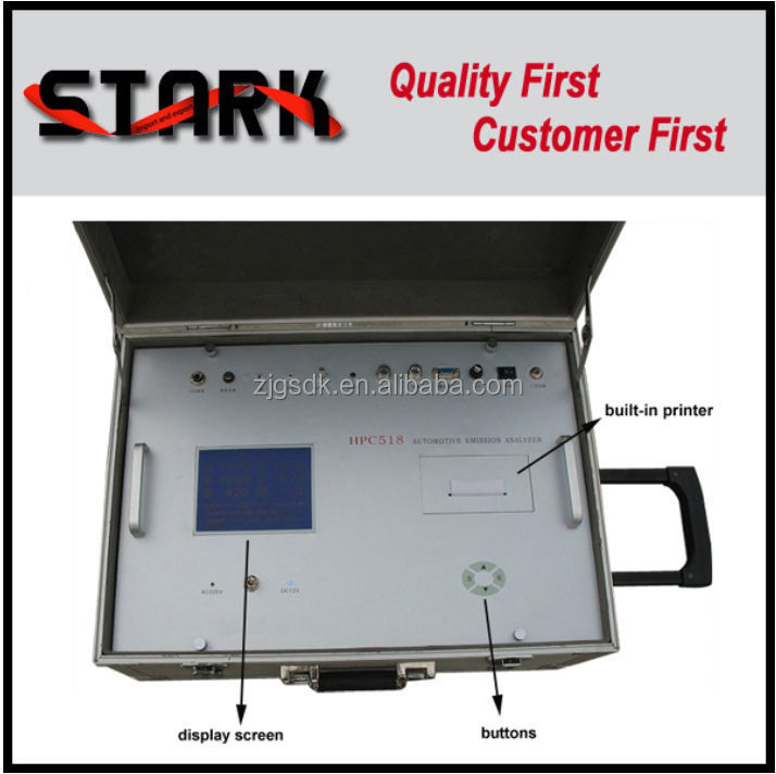 Alibaba china suppliers online selling <strong>portable</strong> car exhaust 5 gases analyzer HPC518