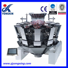 Full automatic multi-head weigher and vertical packing machine