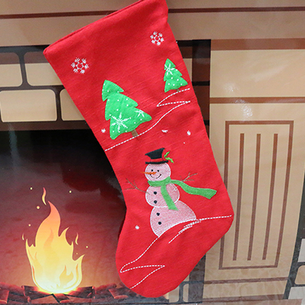 christmas decoration stuff small red christmas stockings