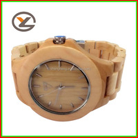 japan movt wall geneva watch case wrist wood wooden watch man woman lady unisex