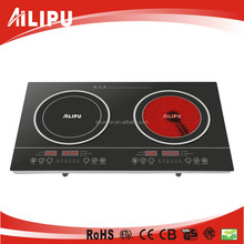 220-240V China Wholesale / Manufacturer 2 Burner multi Induction Cooktop, Induction Plates