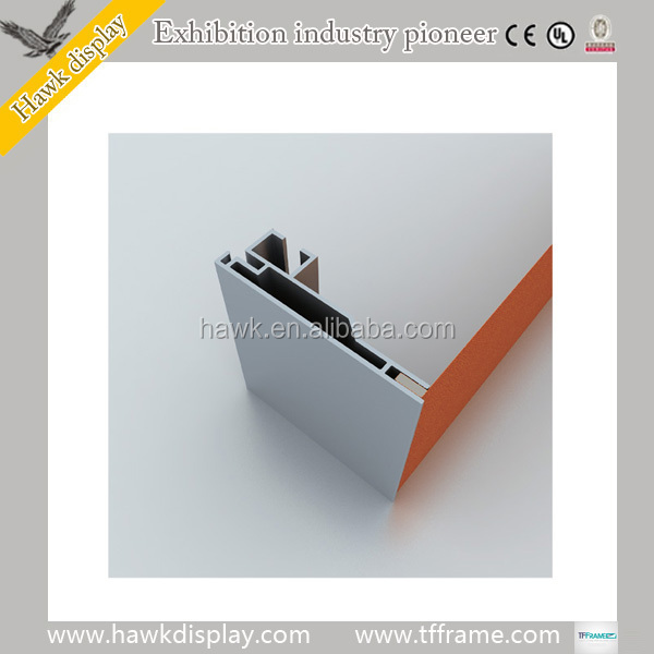 Frameless Aluminum Extrusion Profiles for Fabric Light Boxes