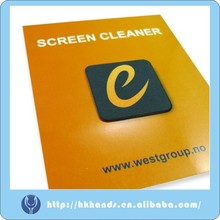 Mobile phone sticky screen cleaner for any touch screen