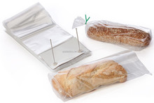 2014 Clear Plastic OPP Wicketed plastic Bread packaging Bag
