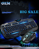 2016 new products hot sell nice keyboard and mouse combo for gaming and working