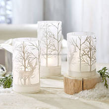 Glass Candle Holder Customized Candle Holder Frosted Candle Holder