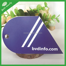 Customize die cut shaped sticky note pad