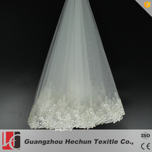 Hechun factory sale bridal veil beaded trim