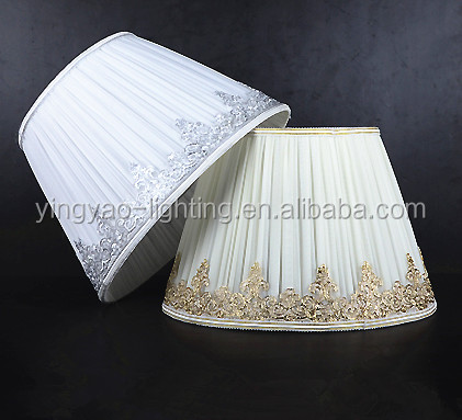 Coolie Cotton Mushroom Pleated Lampshade Lamp Shade Fabric