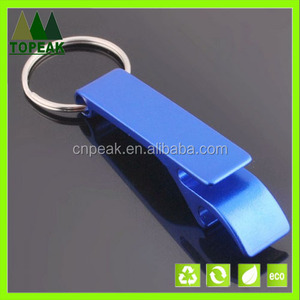 Hot sale high quality Meta keychain bottle opener