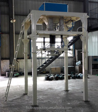 Semi automatic bentonite bulk bag weight filling machine
