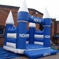 Blue inflatable bouncer/3x3m bouncing castle for kids