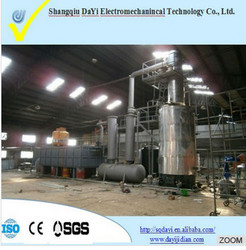 NEW DESIGN! crude oil refinery equipment&black oil refinery plant&crude oil refining machine/plant with CE,SGS,ISO