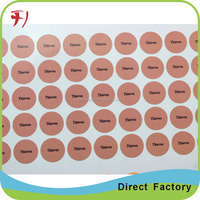 Printing products packing sticker, waterproof food grade adhesive label