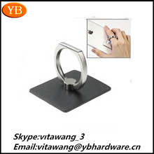 360 Degree Free Rotating Mobile Phone Ring Holder/Stent For iPhone/Samsung/Universal Mobile phoneISO9001/RoHS