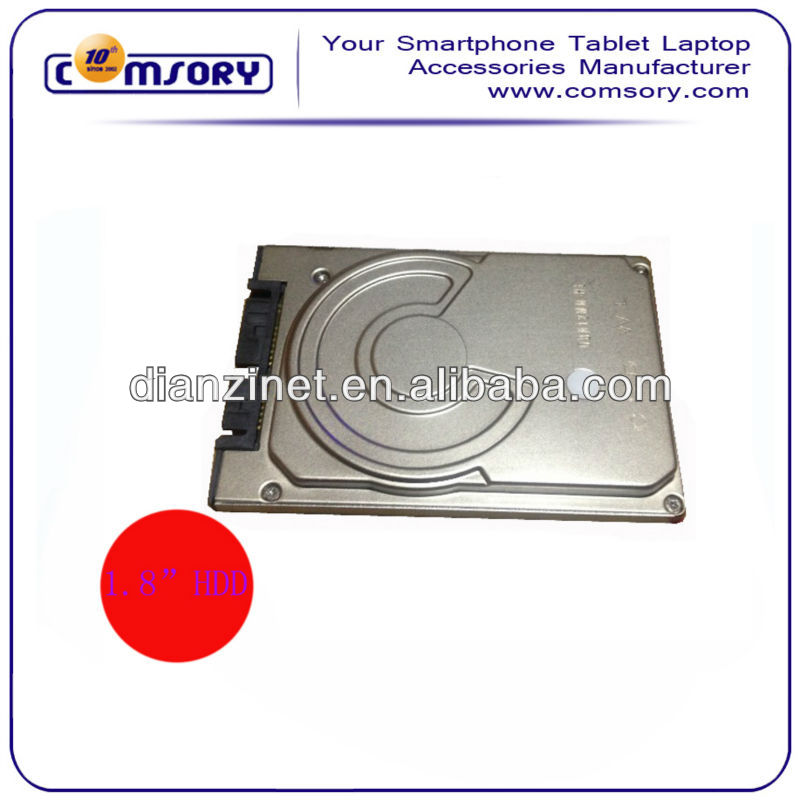 "Grade A+1.8"" Hard Drive Disk 1.8"" inch 60GB HDD MK6028GAL Notebook mini-PATA Replace HDD"