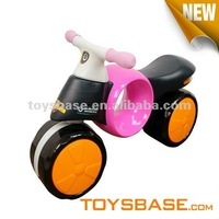 Nice colorful childrens toy motorcycle