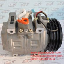 24v air conditioner compressor denso 10p30c for Toyota Coaster bus
