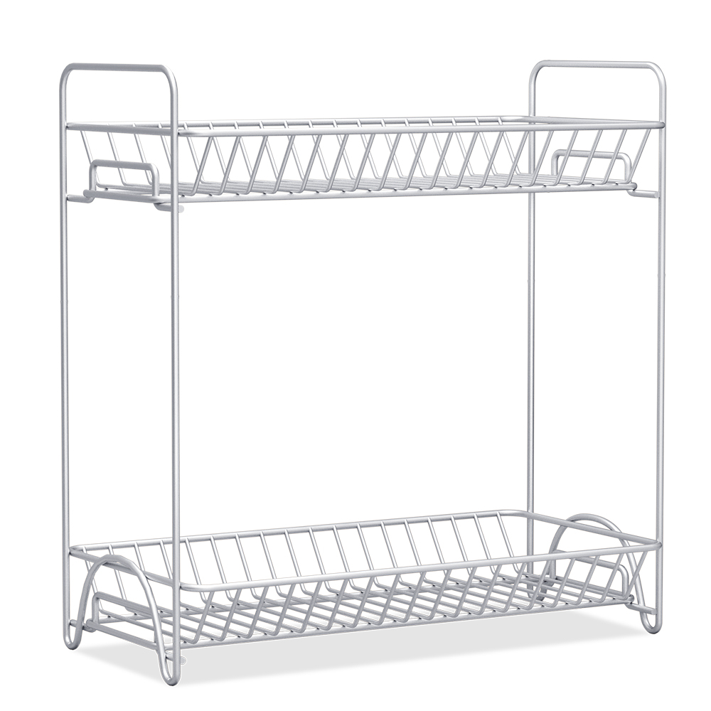 2018 Special Offer Kitchen Bathroom Dual Purpose Stainless Metal Rack Storage <strong>Shelf</strong>
