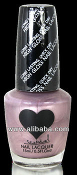 Scandal Heart Nail Polish # 68 Chic Pearl Scandal Cosmetics