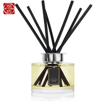High quality aroma reed diffuser with rattan reed stick and reed diffuser glass bottle
