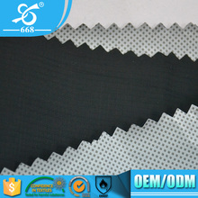 100% Nylon Taslon Twill Breathable Milky Coated Wholesale Fabric For Outdoor Garments