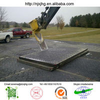heavy duty matting for larger access vehicles road mat, temporary road mat ,construction road mat