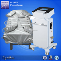 far Infrared pressotherapy / infrared body shaping slim suit/ body pressure therapy machine Cynthia RU 1605