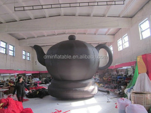 customized Chinse style inflatable teapot for advertising