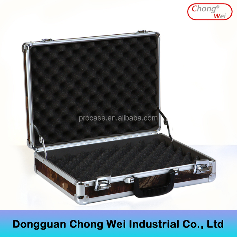Portable Aluminum Hard Carrying Gun Case