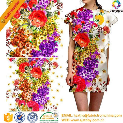 custom printing fabric digital printed textile fabric