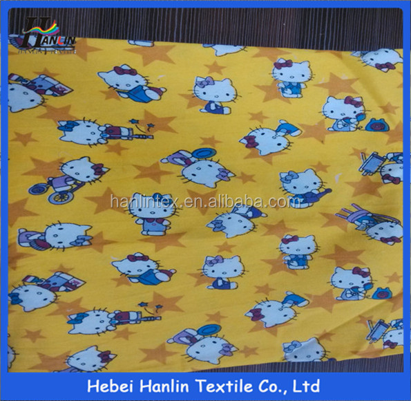 40 polyester 60 cotton fabric/free shipping manufacturers cloth yellow cleaning/bedsheet fabric stock lot