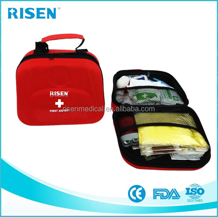 OEM family EVA small road trip first aid kit for medical device