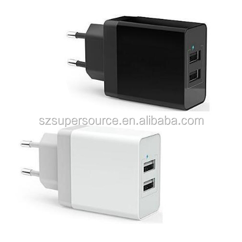 Dual Port 3.1A USB Wall Charger Power Adapter for Samsung, HTC, LG, iphones